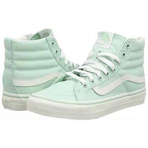 Vans sk8 hi slim sneakers shoes acqua green new